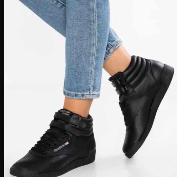 black reebok high tops Online Shopping